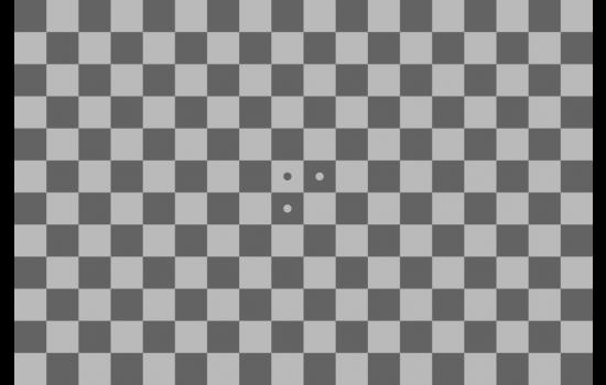 Checkerboard 4:1 Test Chart