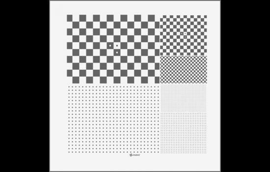 MicroMulti-4 Test Chart