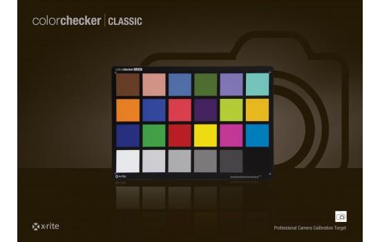 X-Rite ColorChecker Classic Chart - Color Test Charts - Test Charts