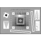 Reflective scanner test chart ISO-16067-1 - QA-61