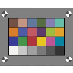 Transmissive Color Target