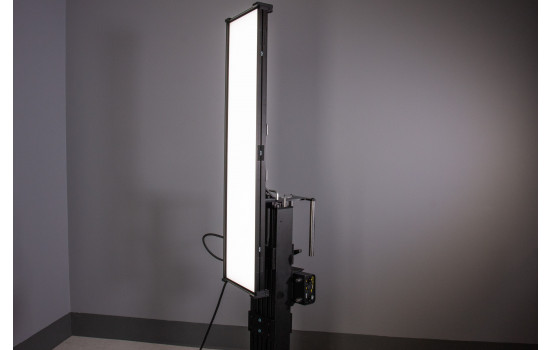 Kino Flo light mounted on MTS Reflective Module