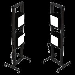 Thouslite Fixture - 2 lights per stand