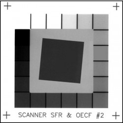 Slant edge target / Scanner SFR & OECF QA-62