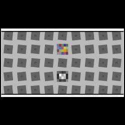 SFRplus 4:1 Contrast 5x9 squares
